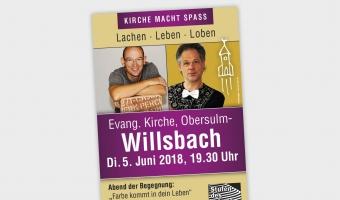 Kirche macht Spaß in Willsbach
